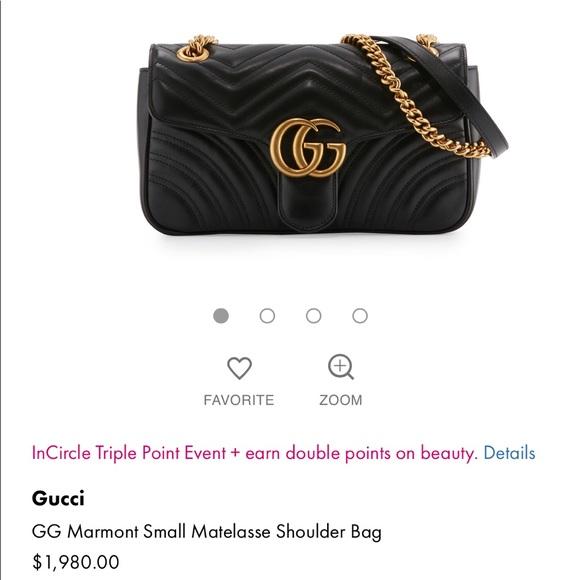 cc7c49a704e9 Gucci Bags | Marmont Small Matelasses Shoulder Bag | Poshmark